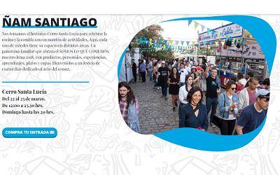 Hoy comienza el Festival Latinoamericano de Cocina Ñam Santiago 2018
