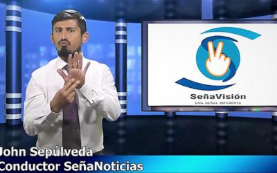 Nació SeñaNoticias que informa sobre actualidad a personas sordas en YouTube