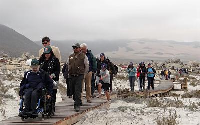 Servicios para personas con discapacidad en 33 áreas silvestres protegidas
