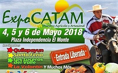 Muestra costumbrista Expo CATAM 2018 parte este viernes en El Monte