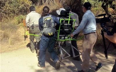 Debuta monociclo en áreas silvestres protegidas para público con discapacidad