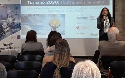 Turismo pretende usar sólo energías renovables no convencionales al 2030