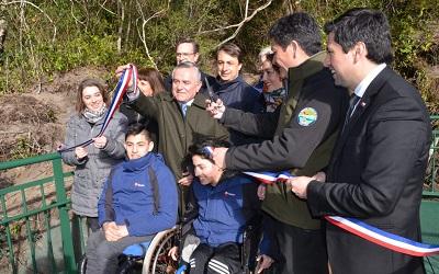 Inauguradas obras de accesibilidad universal en los Saltos del Petrohué
