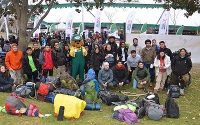 500 jóvenes iniciaron trabajos voluntarios en 12 áreas silvestres protegidas