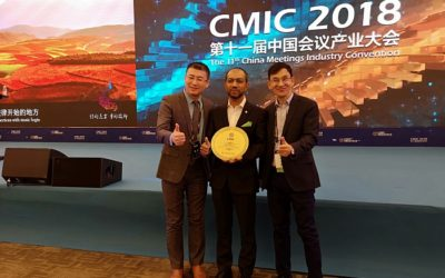 ICCA's Regional Director Asia Pacific receives prestigious Chinese MICE award