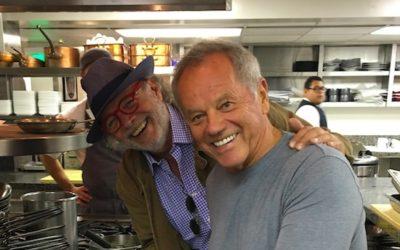 Chef Wolfgang Puck llega a Uruguay de la mano de su par Francis Mallmann