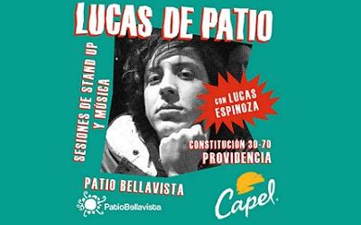 Lucas de Patio: Stand Up Comedy y coctelería en Patio Bellavista