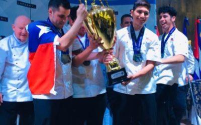 Equipo de Chile campeón absoluto de la Copa Culinaria del Pacífico