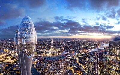 """El Tulipán: nueva atracción cultural y turística para la """"City"""" de Londres"""