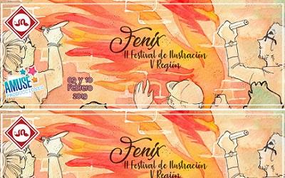 Hoy se inicia segunda versión de Fénix: Festival Nacional de Ilustración