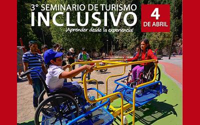 Seminario sobre turismo inclusivo en Municipalidad de Estación Central