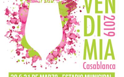 El 30 y 31 de marzo será séptima Fiesta de la Vendimia de Casablanca