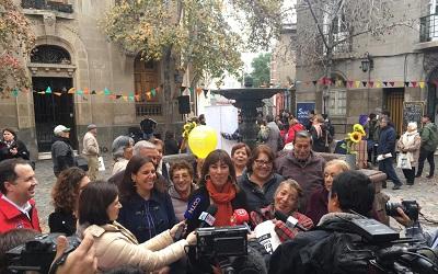 Recorrido por Barrio Concha y Toro abrió celebración de Día del Patrimonio