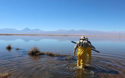 Habilitan primera estación de monitoreo continuo en Laguna Tebenquiche