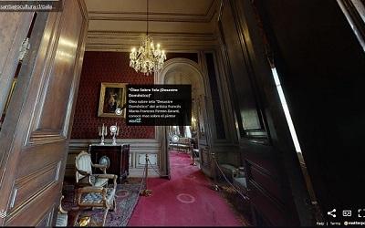Espectacular recorrido virtual en 360 grados por el Palacio Cousiño