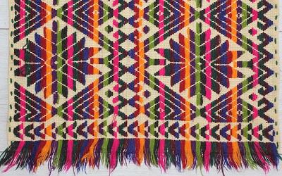 """Exposición """"Arte textil México"""", de comunidades indígenas, llega a Chile"""