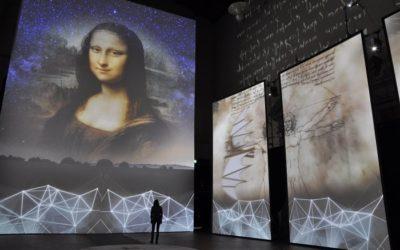 "Muestra multimedia ""Da Vinci Experience"" llega al Museo Artequín"