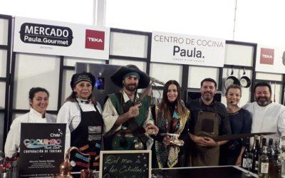 Región de Coquimbo conquistó al público del Mercado Paula Gourmet