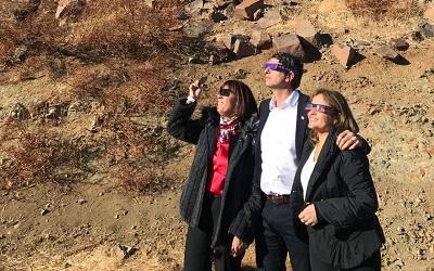 Eclipse solar consolida a Chile como destino mundial de astroturismo