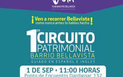 Circuito turístico revelará las historias desconocidas del Barrio Bellavista