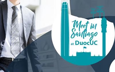 Meet in Santiago at Duoc UC reunirá a industria MICE y comunidad educativa
