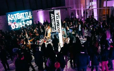Segunda versión de Art Battle: competencia de pintura en vivo en Lima