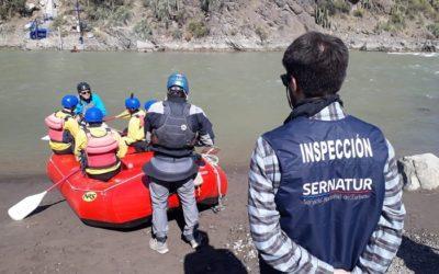 Sernatur RM inspeccionó servicios que operan en el Cajón del Maipo