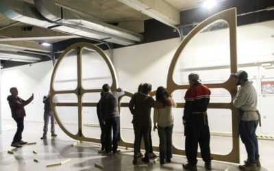 Avanza proyecto que restaura emblemática obra de Frank Stella en MSSA