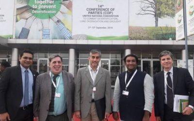 Chile representa a América Latina en convención de ONU para la desertificación