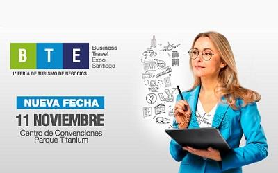 Business Travel Expo (BTE) postergada para el lunes 11 de noviembre