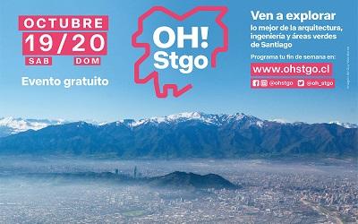 OH! Stgo abrirá más de 100 espacios en 33 comunas de Región Metropolitana