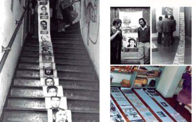 Exposición de archivo de la artista Luz Donoso en Campus Creativo UNAB
