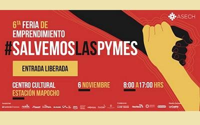 El miércoles 6 se efectuará VI Feria de Emprendimiento #SalvemosLasPymes