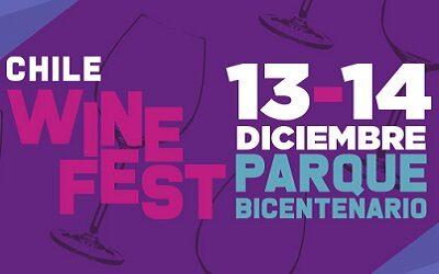 Chile Wine Fest 2019: Vino y Emprendedores será el viernes 13 y sábado 14