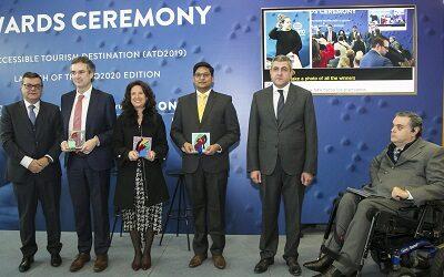 OMT y Fundación ONCE reconocen a los «Destinos Turísticos Accesibles»