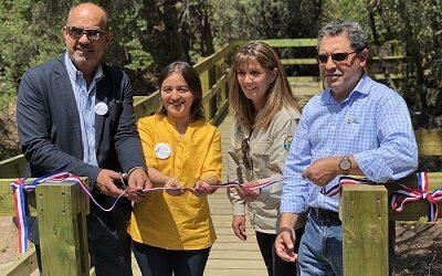 Nuevos atractivos con accesibilidad universal en RN Río de Los Cipreses