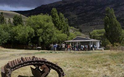 """Inauguran """"Casa Museo Lucas Bridges"""" en Parque Nacional Patagonia"""