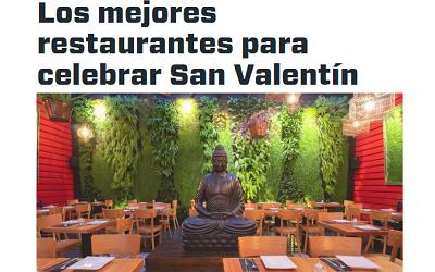 ¡Recomendados para celebrar! Guía gastronómica para San Valentín