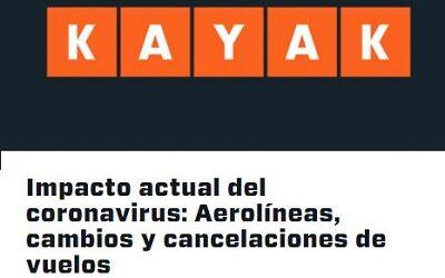 KAYAK mantiene informados a los usuarios sobre políticas de las aerolíneas