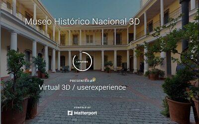 Museo Histórico Nacional único recinto en Chile con tour virtual en 360 grados
