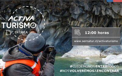 Subsecretario José Luis Uriarte en nueva semana de Activa Turismo en Línea