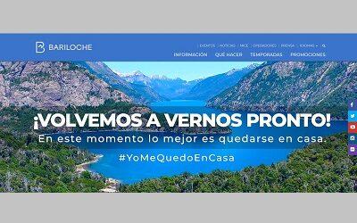 Bariloche ofrece un sitio web especial para descubrir sus atractivos desde casa
