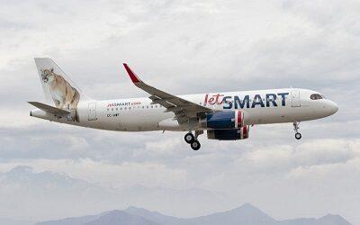 Vuelo especial de Santiago a Asunción realizó JetSMART para repatriar ciudadanos