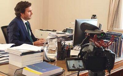 Subsecretario de Hacienda en segunda jornada de Activa Turismo en Línea