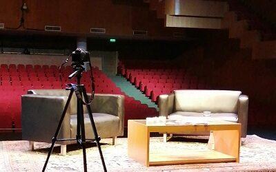 """""""ConversArte a Teatro vacío"""" en Corporación de Cultura y Artes de Rancagua"""
