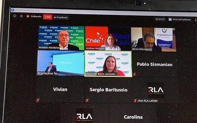 Directora de Sernatur en webinar con autoridades de turismo de Latinoamérica