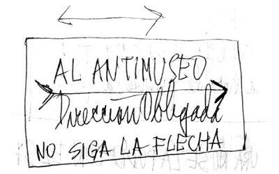 """Fundación Nicanor Parra anuncia la """"Anti Exposición: no siga la flecha"""", vía web"""