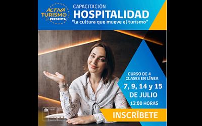 Más de 1.400 personas en capacitación sobre hospitalidad en el turismo