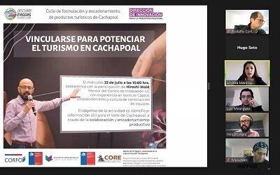 Atractiva serie de talleres online para empresarios turísticos de Cachapoal