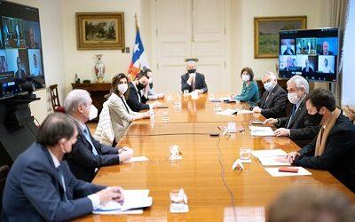 Fedetur con el Presidente Piñera para evaluar el plan de desconfinamiento